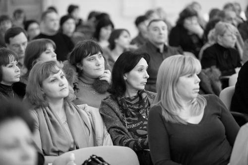Слушатели интерактивной лекции «Понимание аутизма»