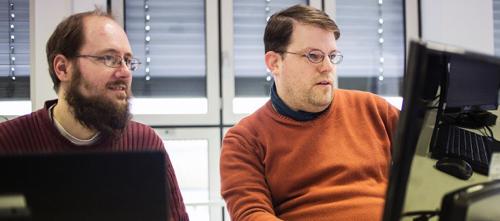 Сотрудники немецкой ИТ-компании Auticon, которая нанимает людей с аутизмом в качестве консультантов